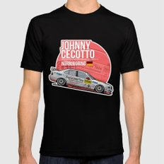 Johnny Cecotto - 1998 Nürburgring Mens Fitted Tee Black SMALL