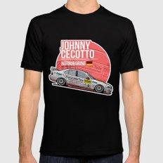 Johnny Cecotto - 1998 Nürburgring Mens Fitted Tee MEDIUM Black