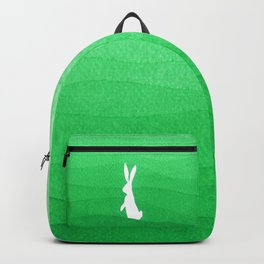Rabbits meadow Backpack