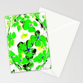 Floral Easter Egg Stationery Cards