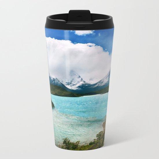 Evergreen Adventure Metal Travel Mug