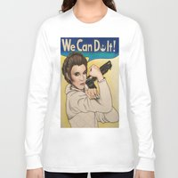 leia Long Sleeve T-shirts featuring Leia by seventhwonderwitch