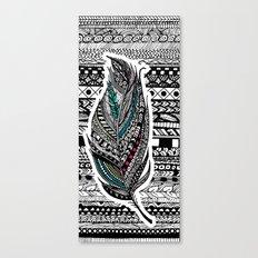 Aztec Feather. Canvas Print