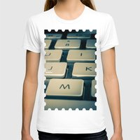 mac T-shirts featuring Mac Keyboard by Mauricio Togawa