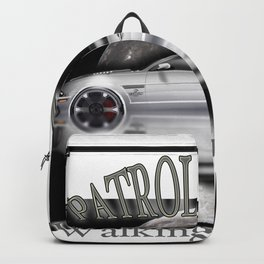 American cars - Legendary White Mustang Backpack