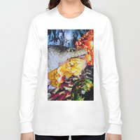 venom Long Sleeve T-shirts featuring Venom by John Turck