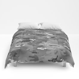 Camouflage: Urban I Comforters