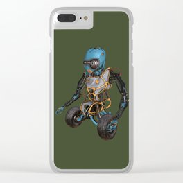 JunkBot Clear iPhone Case