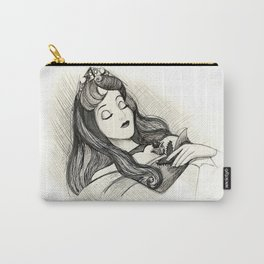 Sleeping Beauty Carry-All Pouch