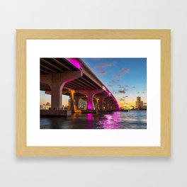 Miami, Florida Framed Art Print