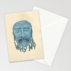 A PORTRAIT OF EVERYONE IN THE WORLD Stationery Cards