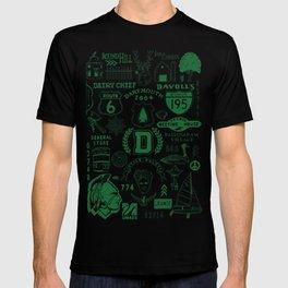 Dartmouth Massachusetts Print T-shirt