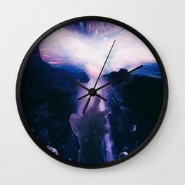 MIND AGAINST DARKNESS Wall Clock