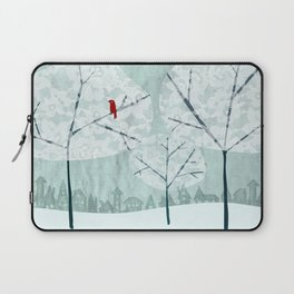 Lace Trees Laptop Sleeve