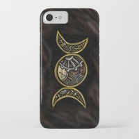steam punk iPhone & iPod Cases featuring steam punk goddess  by Shonda Robb