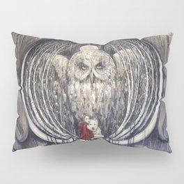 Embrace Fear // Little Red Riding Hood Fairy Tale Wolf Girl Wolves Owl Moon Night Dark Forest Woods Pillow Sham