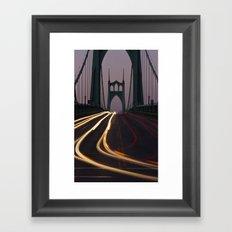 St. Johns Bridge II Framed Art Print