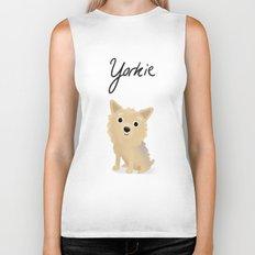 Yorkie - Cute Dog Series Biker Tank