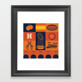 Astros World Champs Framed Art Print