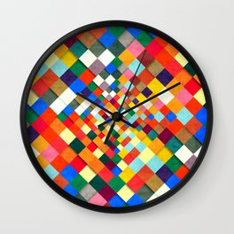 Colorful Nite Wall Clock