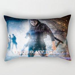 Under My Heel Rectangular Pillow