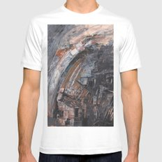 Abstract 2014/11/26 Mens Fitted Tee White MEDIUM