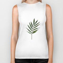 Plant Leaves Biker Tank