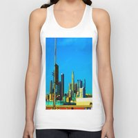 cityscape Tank Tops featuring Cityscape by Life Of A Lens Studios