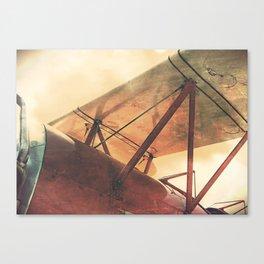 Take Flight // Antique Airplane Canvas Print