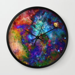 Everything is nothing 27 (therefore it was beautiful) Wall Clock