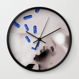 Swallow These Pills Wall Clock