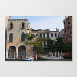 Venetian Jungle Canvas Print
