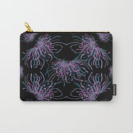 Purple Chrysanthemums Carry-All Pouch