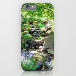 Tranquil stream iPhone Case