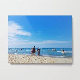 beach daze Metal Print