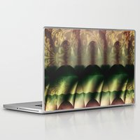 theater Laptop & iPad Skins featuring In the Theater  by Truly Juel