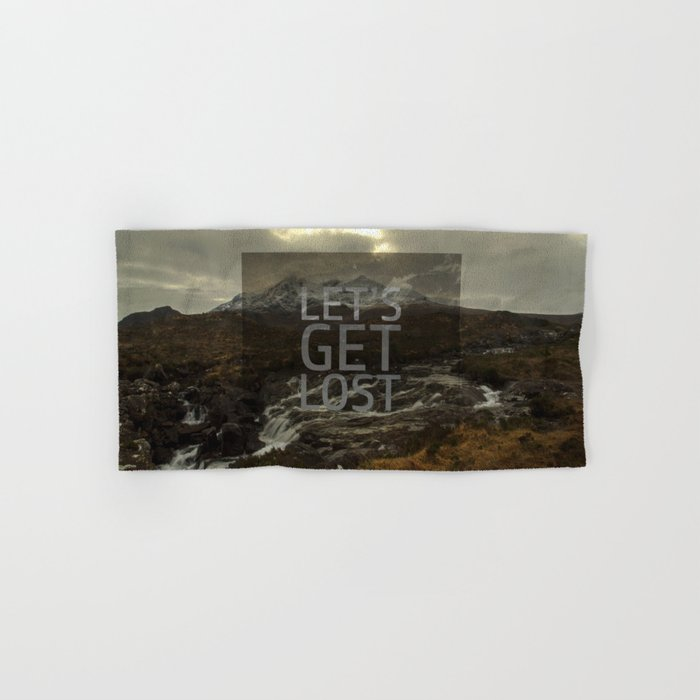 LET'S GET LOST Hand & Bath Towel