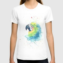 Watercolor Parrot T-shirt