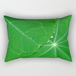 Nasturtium Dew Rectangular Pillow