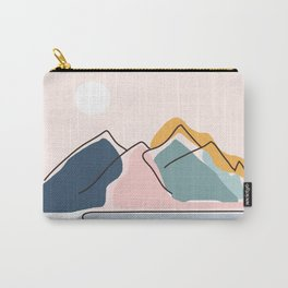 Minimalistic Landscape Carry-All Pouch