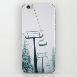 Ski Lift II iPhone Skin