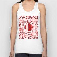 milan Tank Tops featuring Ac Milan Mix by Sport_Designs