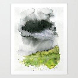 Summer's Rain Art Print
