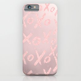 Blush LOVE - XOXO - iPhone Case