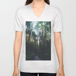 Muir Woods, California II Unisex V-Neck