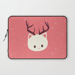 Reindeer Cat Laptop Sleeve