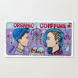 Organic Couffure Canvas Print