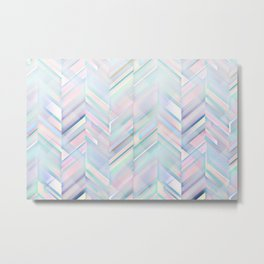 Aesthetic Pattern Metal Print