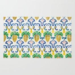 Pineapple Tiles Rug
