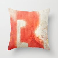 brasil Throw Pillows featuring Brasil by Fernando Vieira